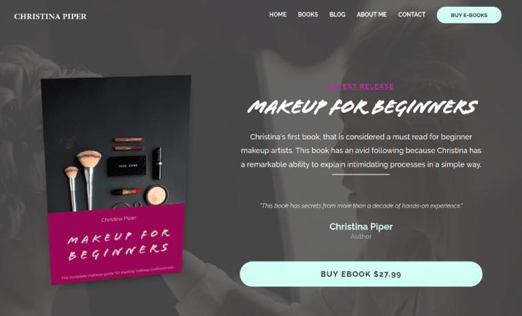 Hustly Modern eBook Website Template