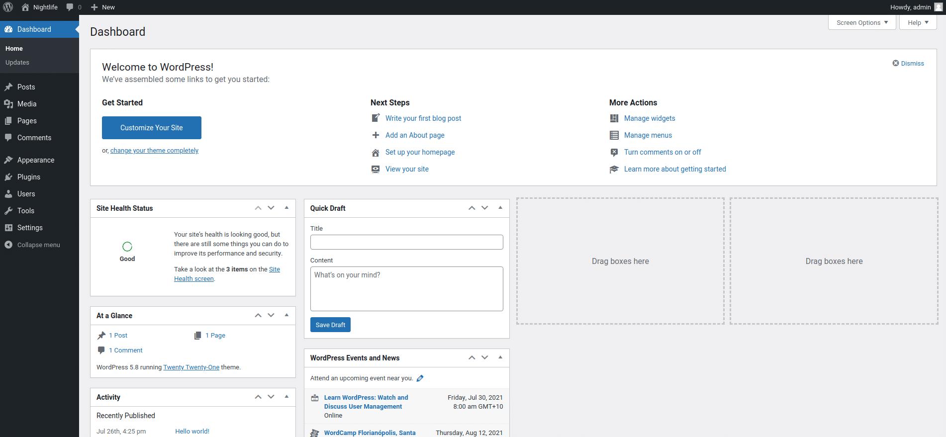 Login to your WordPress dashboard to add new plugins.