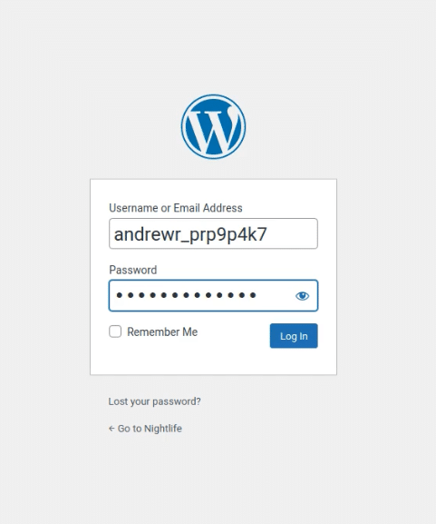 Login to your WordPress website as an admin.